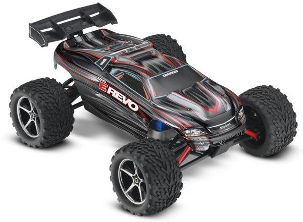 TRAXXAS E-Revo RTR Brushed +12V-Lader 1/16 4WD Racing Truck