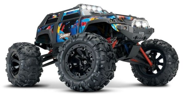 Traxxas Summit 4WD Brushed Rock and Roll 1:16 2,4 GHz